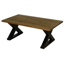 Sawhorse Coffee Table