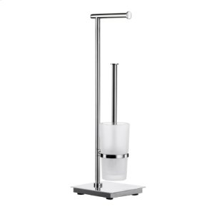 Toilet Roll Holder/Toilet Brush incl. Container Product Image