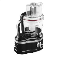 Pro Line® Series 16-Cup Food Processor with Die Cast Metal Base and Commercial-Style Dicing Kit - Onyx Black