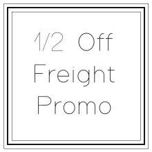 Half Off Freight Market Promo