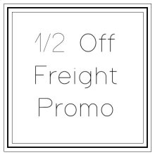 Half Off Freight Market Promo