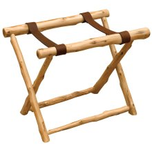 Luggage Rack - Natural Cedar