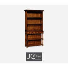 Walnut Tall Bookcase