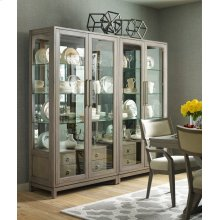 Bunching Display Cabinet