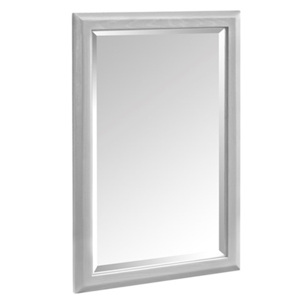 "Charlottesville 24"" Mirror - Light Gray"