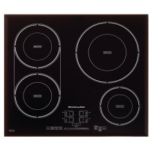 24-Inch, 4-Element Induction Cooktop - Black