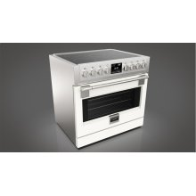 "36"" Induction Pro Range - Glossy White"