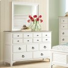 Myra - Nine Drawer Dresser - Natural/paperwhite Finish Product Image