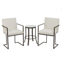 Marzan Chair and Luna Table
