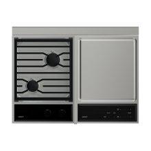 Cooktop/Module Filler Strip for Downdrafts