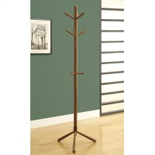 "COAT RACK - 69""H / OAK WOOD CONTEMPORARY STYLE"