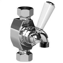 White Riser Diverter Kit, suitable for Exposed Valves & Bath/shower Valves