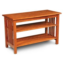 "Mission Widescreen Open TV Stand, Mission Widescreen Open TV Stand, 50""w"