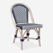 Camelot Outdoor Chair - Black/White - Minimum quantity 2 (17X24X35)