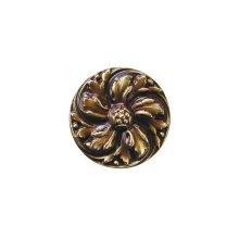 Chrysanthemum - Antique Brass