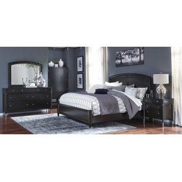 Vibe Panel Bed King Size