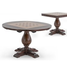 Chess Top Round Occasional Table