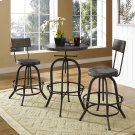 Gather 3 Piece Dining Set in Brown Product Image