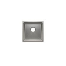 "Classic 003225 - undermount stainless steel Bar sink , 15"" × 15"" × 7"""
