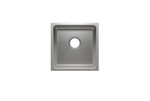 "Classic 003225 - undermount stainless steel Bar sink , 15"" × 15"" × 7"" Product Image"