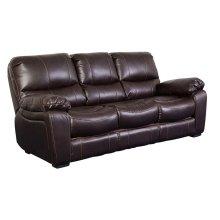 Ramsey Brown Leather-Look Sleeper Sofa, M6013S