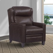 DODGE - WALNUT Power High Leg Recliner