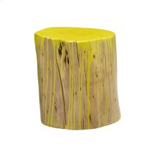 Stump Stool Lime Yellow