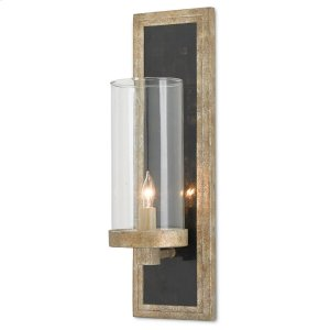 Charade Silver Wall Sconce