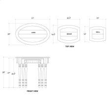 Tucker Oval Nesting Tables