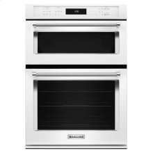 """27"""" Combination Wall Oven with Even-Heat™ True Convection (lower oven) - White"""