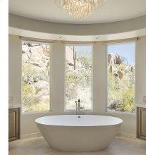 Alissa  71-In, Large, Stunning Freestanding Tub