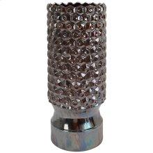 SPARTA VASE  Metallic Glaze Finish on Ceramic