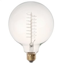 G125 60 Anchors 25w Light Bulb  Clear