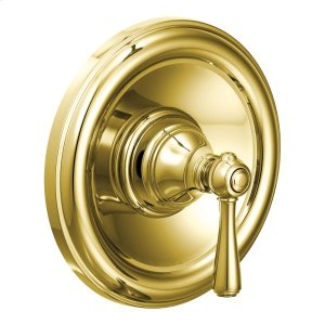 Kingsley polished brass posi-temp® shower only Product Image