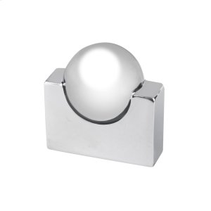 Knob With Center Ball 16MM..BRIGHT Chrome Product Image