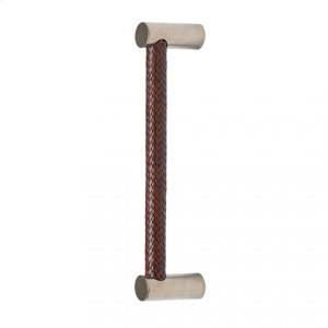 """Leather Grip (G170) - 13 1/2"""" Silicon Bronze Brushed with Acorn Weave Leather Product Image"""