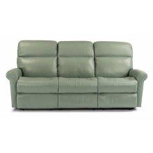 Davis Leather Reclining Sofa