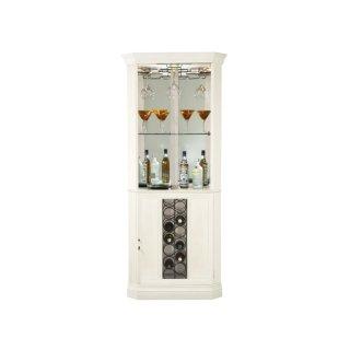 Piedmont V Corner Wine & Bar Cabinet