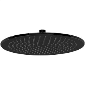 "12"" Round Shower Rainhead - Black Product Image"