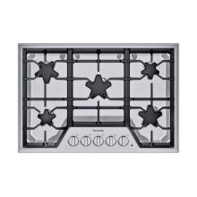 SGSX305TS ® offers an impressive 30-inch gas cooktop with 5 patented Star® burners, including a center-mounted power burner, 2 ExtraLow® Select simmer burners, and 52,000 BTUs of overall heat output. 30-Inch Masterpiece® Star® Burner Gas Cooktop, Ext