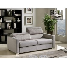 Divani Casa Norfolk Modern Grey Fabric Sofa Bed