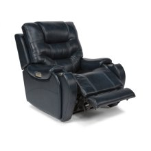 Sinclair Fabric Power Recliner with Power Headrests