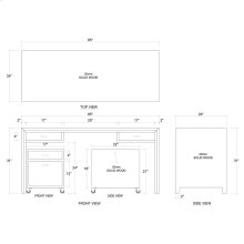 Maverick Desk And Filing Drawer