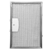 Dishwasher safe aluminum mesh filter that fits all model XOI21 hood.