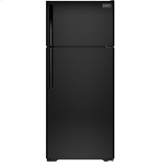 Crosley Top Mount Refrigerator - Black Product Image
