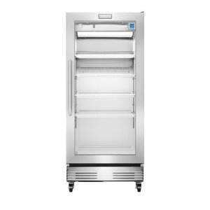 Frigidaire Commercial 18.4 Cu. Ft., Glass Door Merchandiser in Stainless Steel **OPEN BOX** West Location