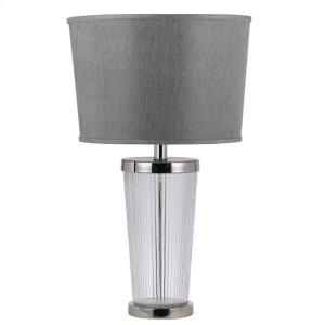 150W 3 WAY RUMFORD GLASS TABLE LAMP