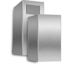 Stainless Steel Telescoping Duct Cover Fits Model XOMI Series for ceilings up to 10 high