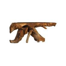 Mahoni Wood Console