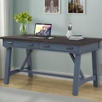AMERICANA MODERN - DENIM 60 in. Writing Desk Product Image